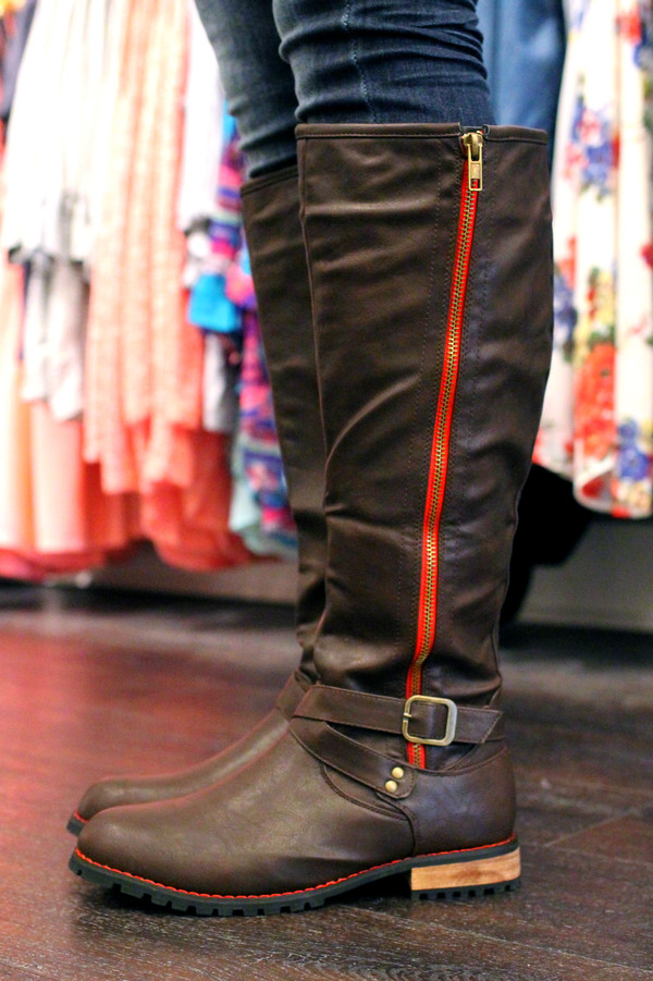 boots riding boots buckles