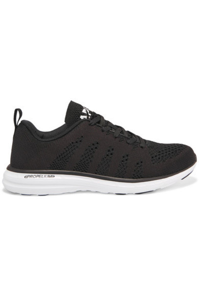 APL Athletic Propulsion Labs mesh sneakers black shoes