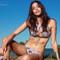 Soah swimwear alma bikini top - violet | designer halter top bikini