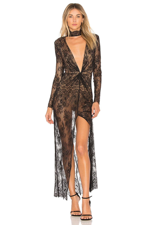 MAJORELLE Callisto Dress in black
