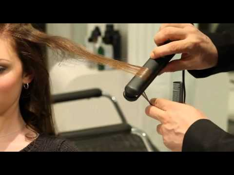 Victoria's Secret Beach Wave Hair Style with Creative Hair Tools Styling Iron - YouTube