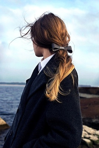 le fashion blogger bow hair bow ombre hair romantic sailor