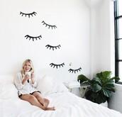 love maegan,blogger,wall decor,home stickers,bedroom