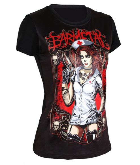 t-shirt steampunk retro gothic