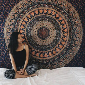 home accessory mandala tapestries wall tapestry beach blanket elephant tapestries hippie tapestries