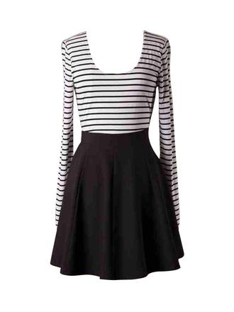 striped dress black and white stripes ustrendy
