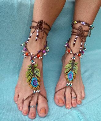 shoes footsie\ hippie