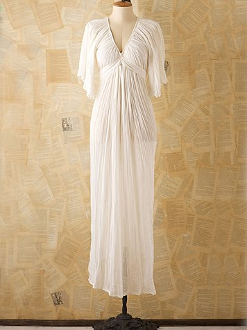 Vintage josefina gauze gown at free people clothing boutique