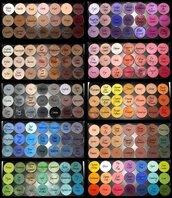 make-up,rainbow,sparkly eyeshadow,eye makeup,eyeshadow palette,eyeshadow shades,sephora,gold,white,red,orange,purole,blue,black,silver,sparkle,brown leather boots