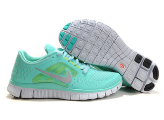 shoes nike free run teal