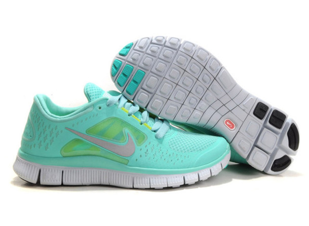 super popular 29e7c 99e6c shoes blue nike running cool aqua me these size nike free run 3 tiffany blue