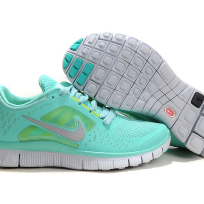 Womens And Mens Tiffany Blue Nike Free Running Size US 10 With Best Ideas And Tiffany