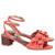 Red Eloy Polka Dot Sandals