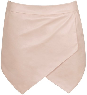 True decadence pu skort, light pink