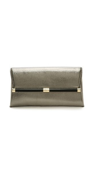 envelope clutch metallic clutch bag