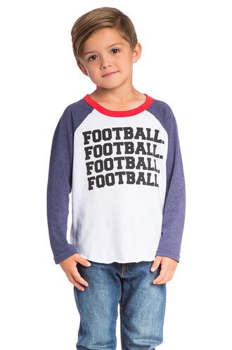 football white top