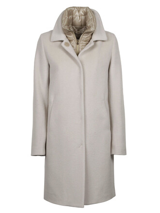 coat layered nude