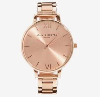 jewels olivia burton watch rose gold