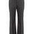 Kick-flare stretch-wool trousers