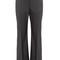 Kick-flare stretch-wool trousers