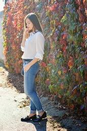 perla oreneta,blogger,jeans,bag,belt