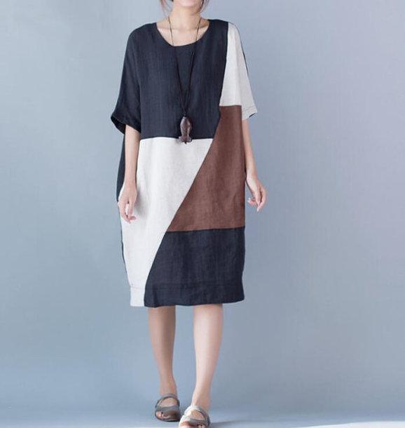 dress bat sleeve dress