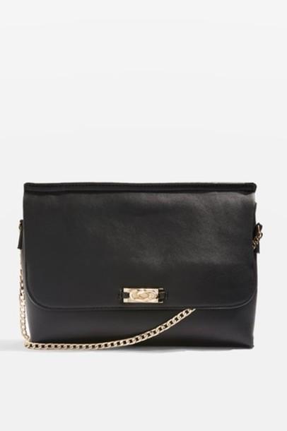 Topshop bag clutch black