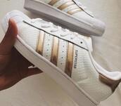 shoes,rose gold,adidas,adidas superstars,adidas originals,low top sneakers