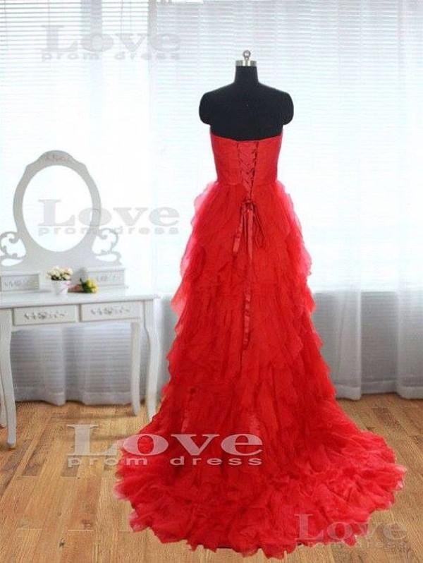 dress red dress prom dress long prom dress long red dress ruffle red stunning dress beautiful red dress beautiful amazing dress prom dress