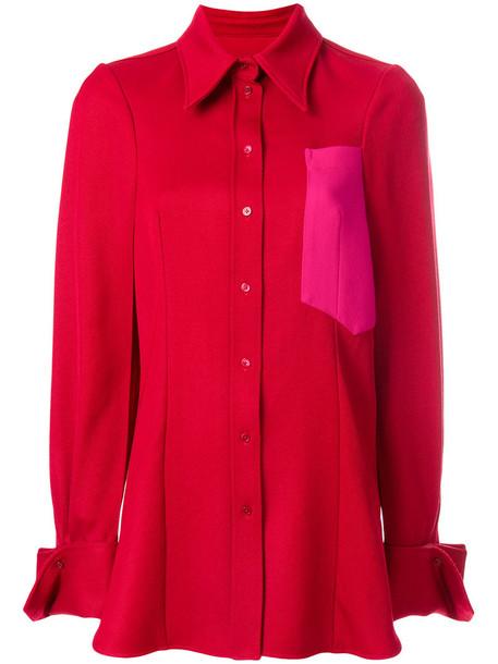 Joseph jacket women wool red