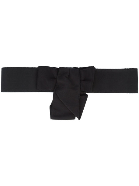 bow belt black