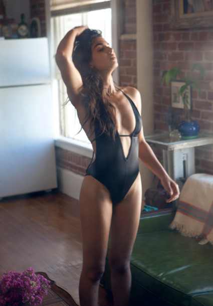 swimwear swimwear leotard black