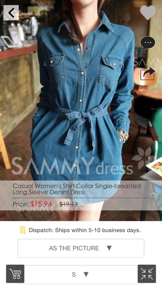 blouse denim dress denim