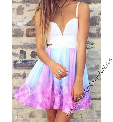 Galaxy Skater Dress - All