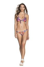 top,latin,print,agua bendita,bikini bottoms,bikini top,cheeky,halter top,racerback,triangle,bikiniluxe