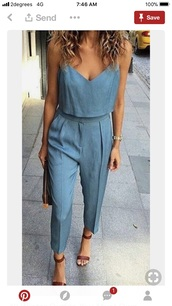 jumpsuit,blue,sweet jumpsuits,pastel,the baby blue,college graduation gift,graduation dress