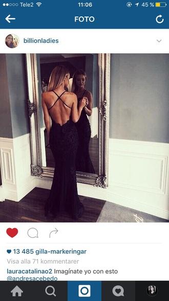 black dress red carpet dress fashion toast criss cross black lace dress black lace open back sexy dress