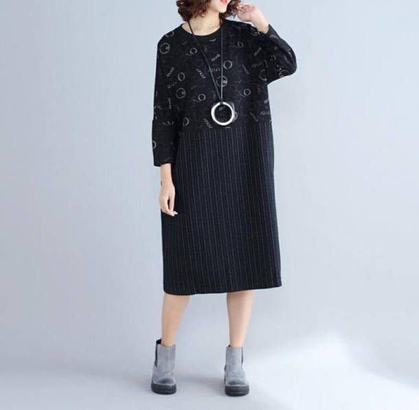 dress pullover dress long pullover dress