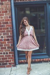 dress,vintage,lace,little house,lace vintage dress,vintage dress,boho,indie,dressy,casual,summer,sundress,summer dress,floral,marsala,red,faded,ivory lace
