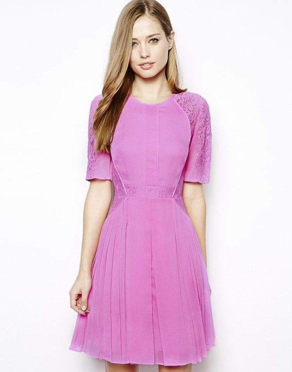 dress whistles linn lace dress lace dress pink dress mini dress