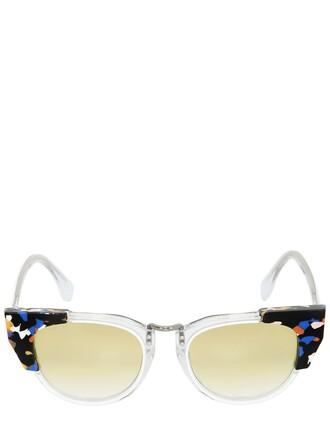 embellished sunglasses transparent