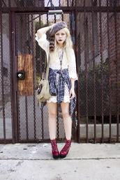 jean greige,lace,dress,jeffrey campbell,shoes