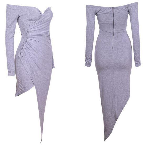 Claudia High-Low Dress