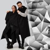 coat,cape,wool,wool coat,black,menswear,women,streetstyle,streetwear,dementor,woolcape,fashion,couplestyle,winter outfits,winter look,urban,urban outfitters