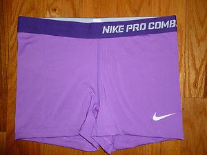 Women s Nike Pro Combat Dri-Fit Training Compression Shorts Large ... 9e02bdde0a