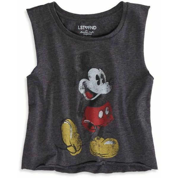 American Eagle Outfitters LST & FND Mickey Mouse Muscle Tank - Polyvore