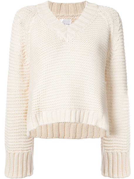 Anine Bing jumper women white cotton sweater