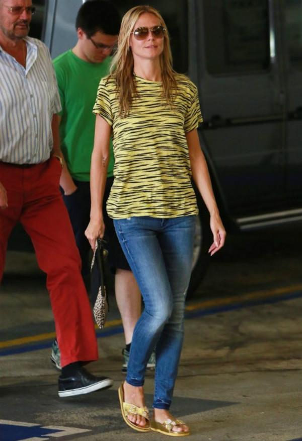 jeans heidi klum sunglasses