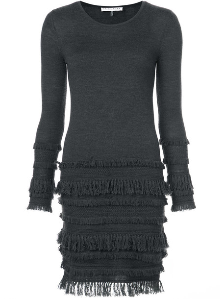 TRINA TURK dress women knit grey