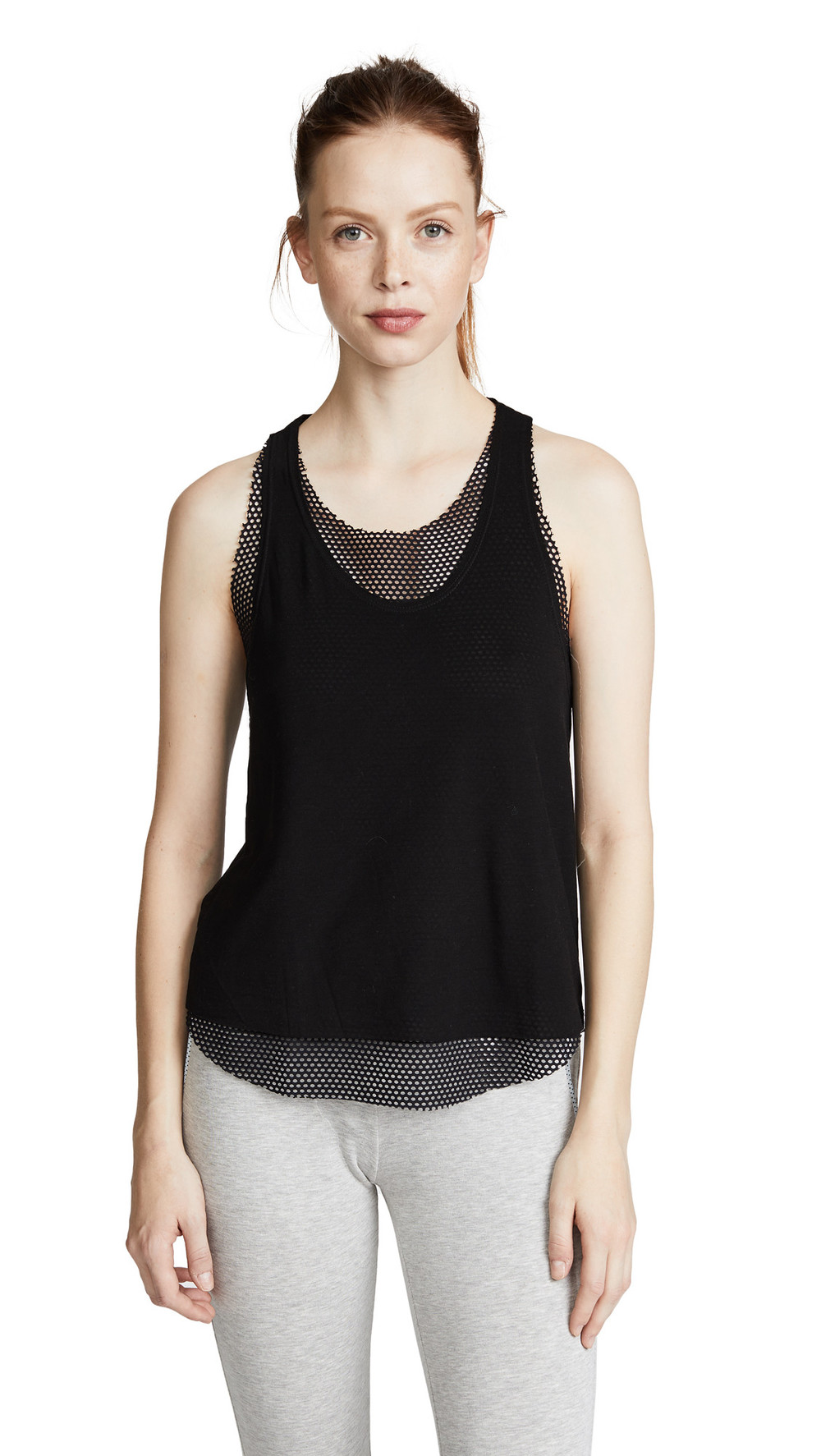 KORAL ACTIVEWEAR Villa Tank Top in black